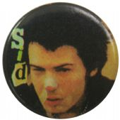 Sex Pistols - 'Sid Close Up' Button Badge